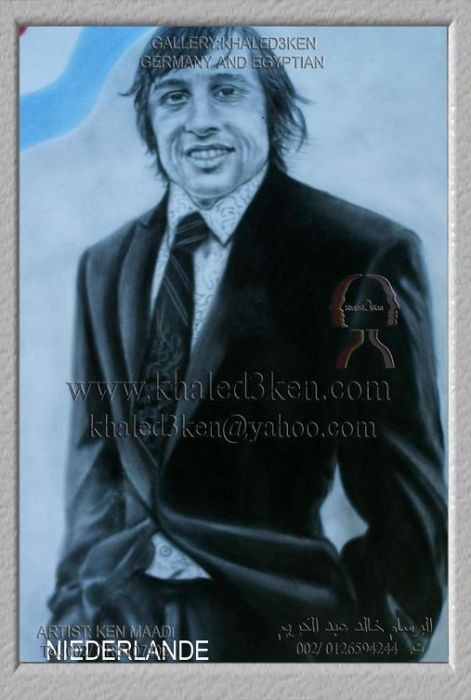 Johan Cruyff by KHALED3KEN